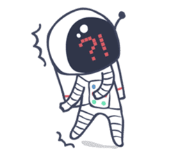 Jack The Astronaut sticker #11233887