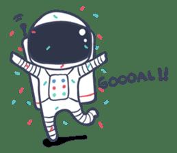 Jack The Astronaut sticker #11233888