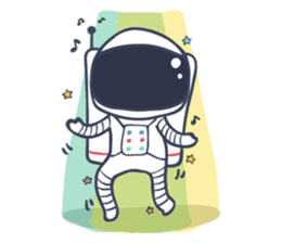 Jack The Astronaut sticker #11233889