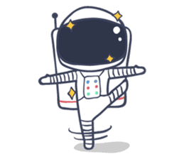 Jack The Astronaut sticker #11233890