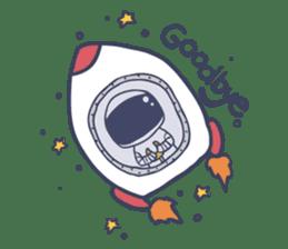 Jack The Astronaut sticker #11233892
