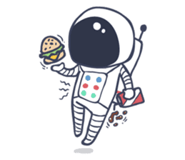 Jack The Astronaut sticker #11233893