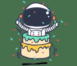Jack The Astronaut sticker #11233894