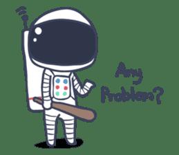 Jack The Astronaut sticker #11233895