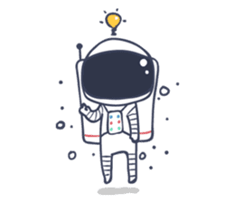 Jack The Astronaut sticker #11233896