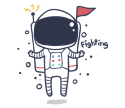 Jack The Astronaut sticker #11233897