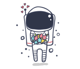 Jack The Astronaut sticker #11233898
