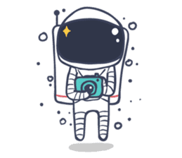 Jack The Astronaut sticker #11233900