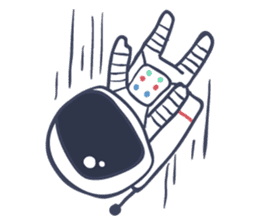 Jack The Astronaut sticker #11233901