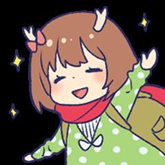 Bambichan Sticker