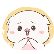 สติ๊กเกอร์ไลน์ Baby Pig Animated by Auongrom