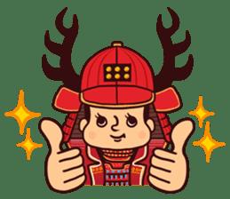 Fanciful Japanese History sticker #11240843