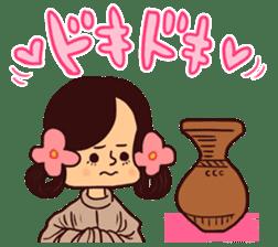Fanciful Japanese History sticker #11240868
