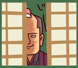Fanciful Japanese History sticker #11240870