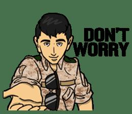 Army Captain sticker #11250116