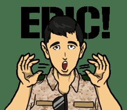Army Captain sticker #11250118