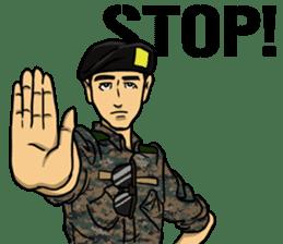 Army Captain sticker #11250119