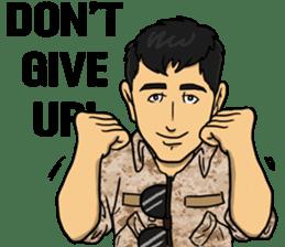 Army Captain sticker #11250123
