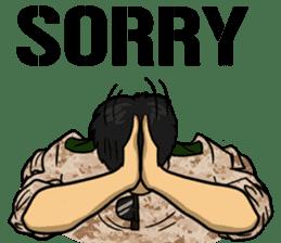 Army Captain sticker #11250125