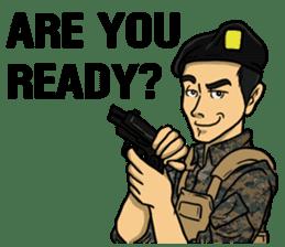 Army Captain sticker #11250132