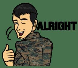 Army Captain sticker #11250134