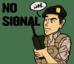 Army Captain sticker #11250137