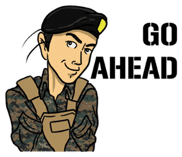 Army Captain sticker #11250138