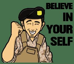 Army Captain sticker #11250139