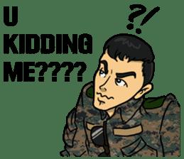 Army Captain sticker #11250144