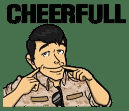 Army Captain sticker #11250145