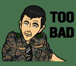 Army Captain sticker #11250150