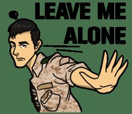 Army Captain sticker #11250151