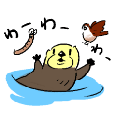 Mr.Seaotter&Ms.Sparrow&Mr.Earthworm