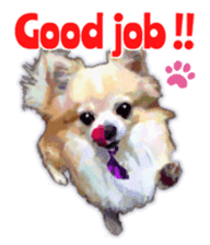 Komaru of a Chihuahua 2 (English) sticker #11252900