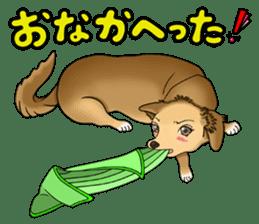 Chiroru's daily life. sticker #11253218