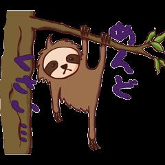 Lazing sloth