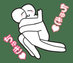 """Earnestly """"Enjoy Love"""" sticker #11258729"""