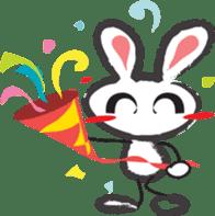 White Rabbit TokiToki sticker #11267473