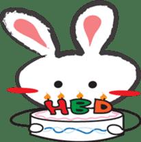 White Rabbit TokiToki sticker #11267486