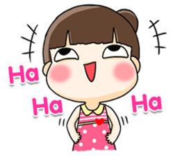 Nu jingjai (EN) sticker #11268975