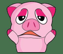 One of us: A Little Cute Piku-Pig sticker #11273070