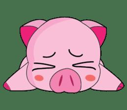 One of us: A Little Cute Piku-Pig sticker #11273072