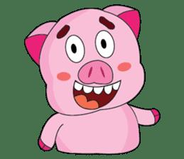 One of us: A Little Cute Piku-Pig sticker #11273077
