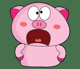 One of us: A Little Cute Piku-Pig sticker #11273081