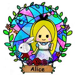 Alice in the country of glass