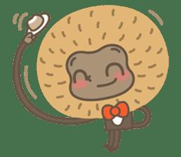 Hoonu the monkey prince  - Hello world! sticker #11280314