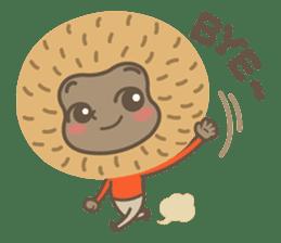 Hoonu the monkey prince  - Hello world! sticker #11280321