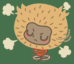 Hoonu the monkey prince  - Hello world! sticker #11280328