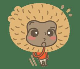 Hoonu the monkey prince  - Hello world! sticker #11280330