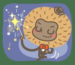 Hoonu the monkey prince  - Hello world! sticker #11280331
